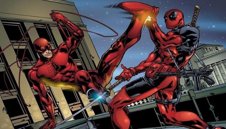 deadpool y daredevil