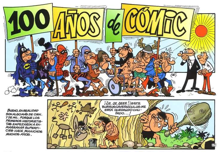 100 años de comics mortadelo y filemon