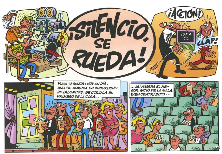 Silencio Se Rueda Mortadelo y Filemon