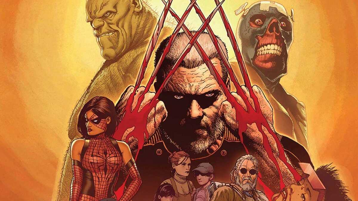 Old man logan comic